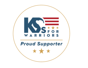 K9s For Warriors Proud Supporter