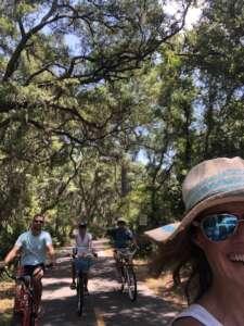 Biking Amelia
